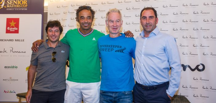 John McEnroe, the tennis player who turns sport into show, returns to the slopes