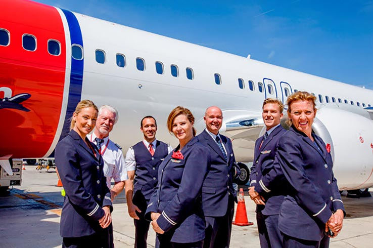 norwegian air opens its transatlantic flights from madrid with a