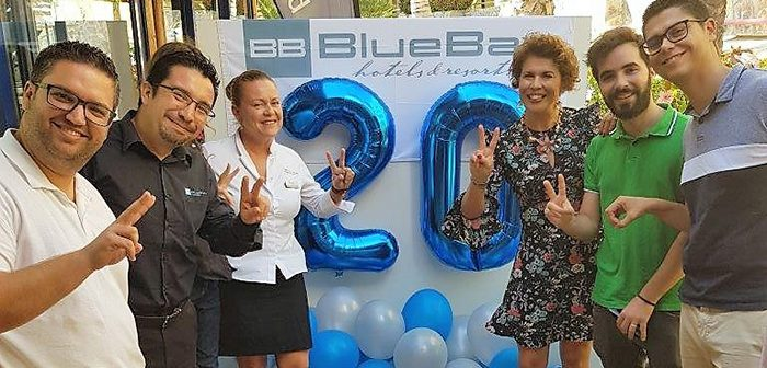 BlueBay Beach**** club has celebrated its 20th anniversary