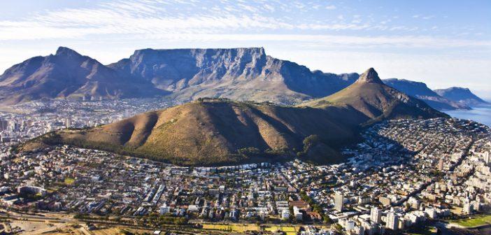 Ciudad del Cabo Desde las alturas- África