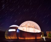 Miluna: a bubble hotel with views of the stars