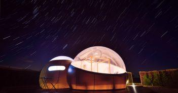 Miluna, un hotel burbuja con vistas al cielo